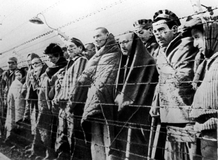 Заключённые ГУЛАГа вВоркуте