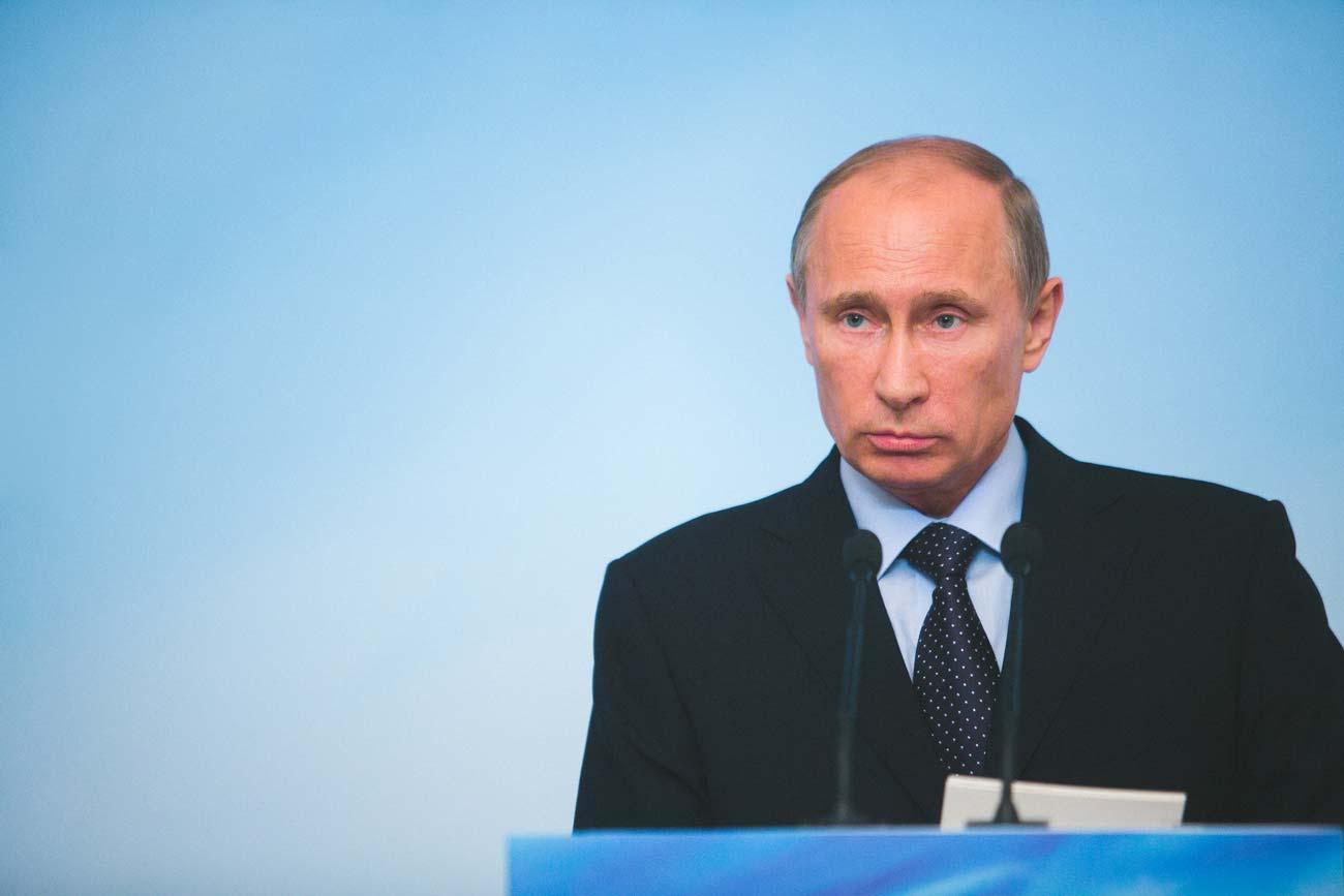 Самые странные подарки, полученные Владимиром Путиным