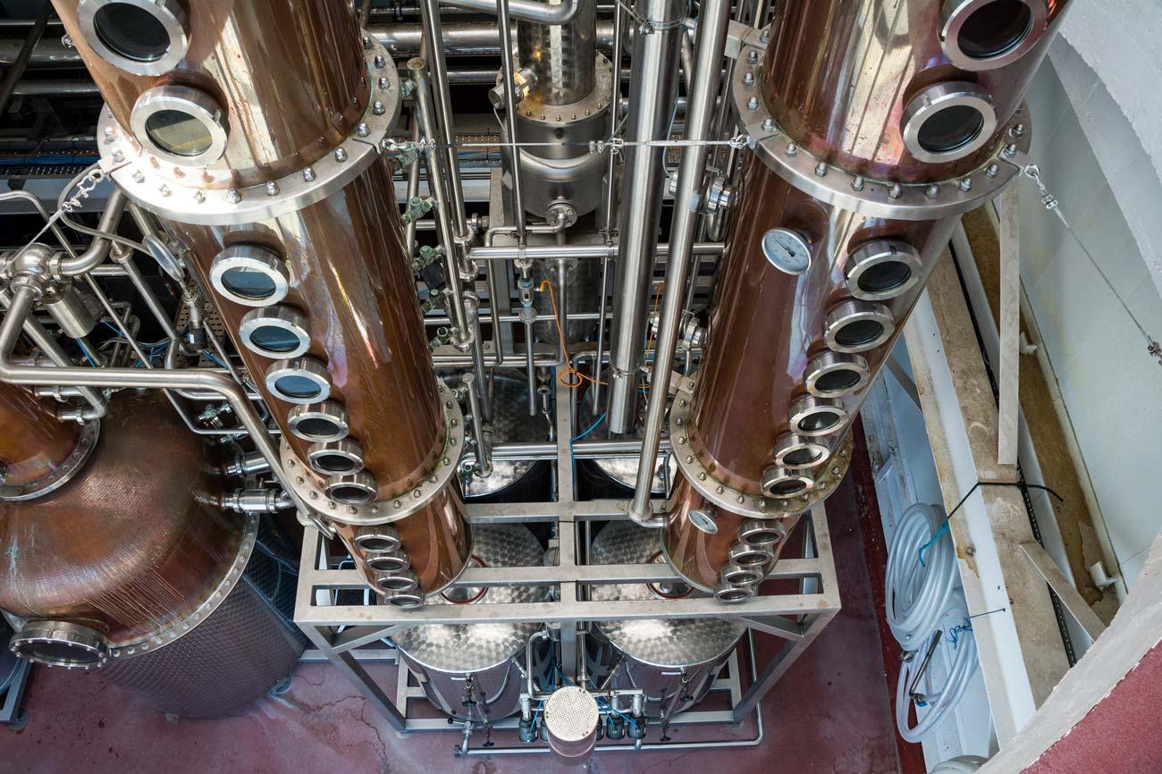 Промышленные ректификационные колонны