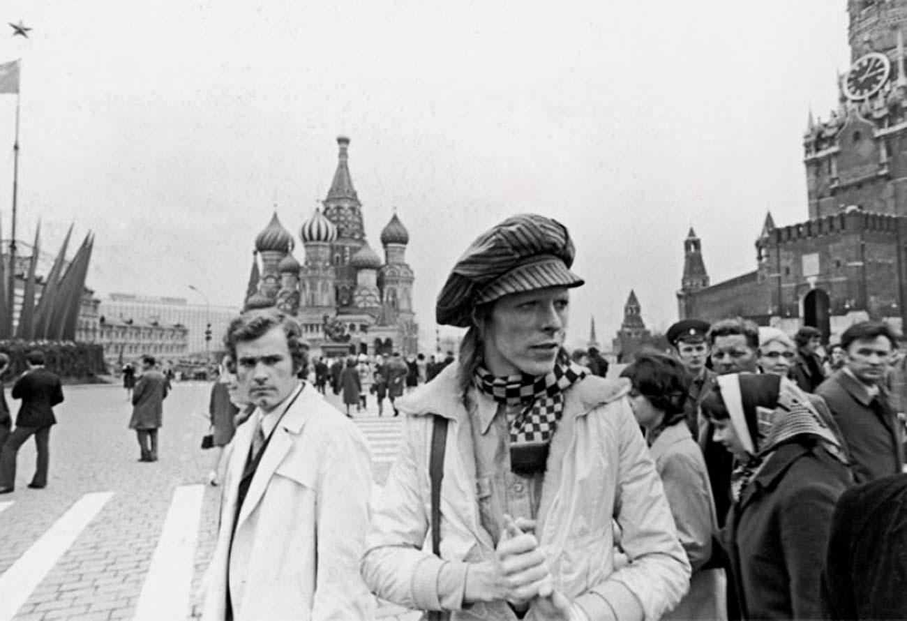 Дэвид Боуи вМоскве