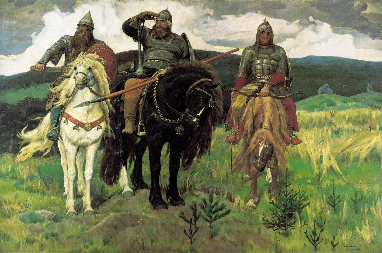 Что нетак скартиной «Богатыри» Васнецова?