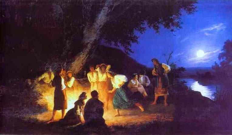 «Ночь наИвана Купалу». Г.И. Семирадский.1904год.