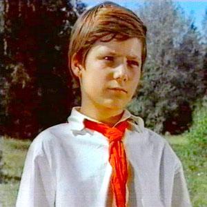 Пионер Миши Поляков из фильма «Бронзовая птица». 1974год.