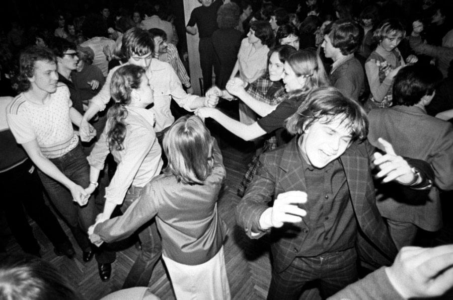 Танцплощадка в СССР