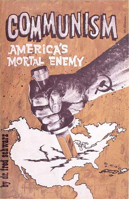 Пропагандистская листовка США против СССР