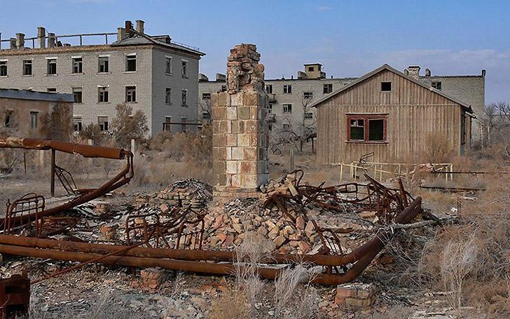 Город призрак Кантубек (Аральск-7)