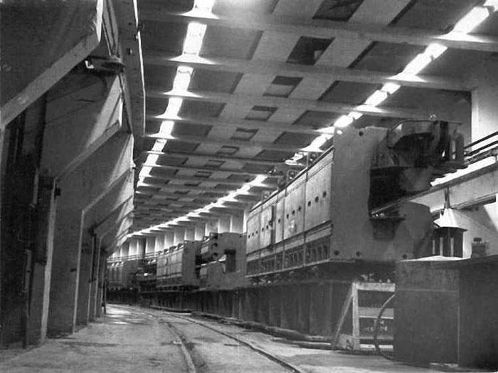 Строительство туннеля адронного коллайдера