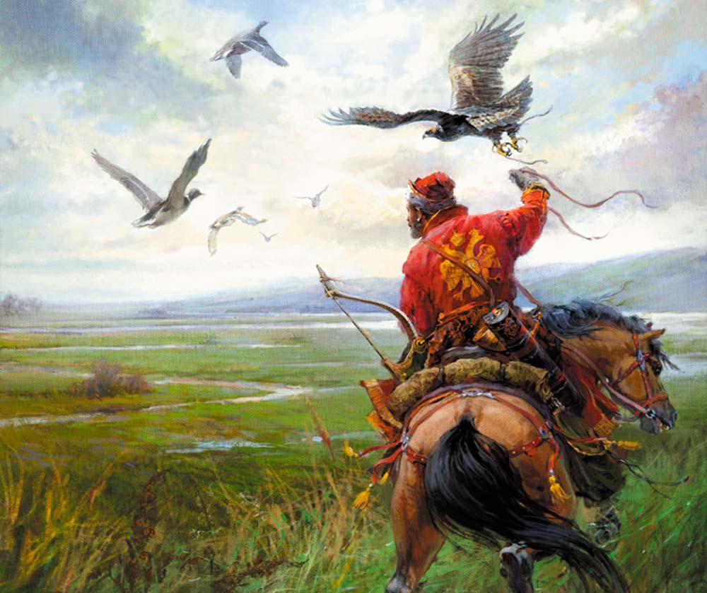 Почему вцарской России была так популярна соколиная охота