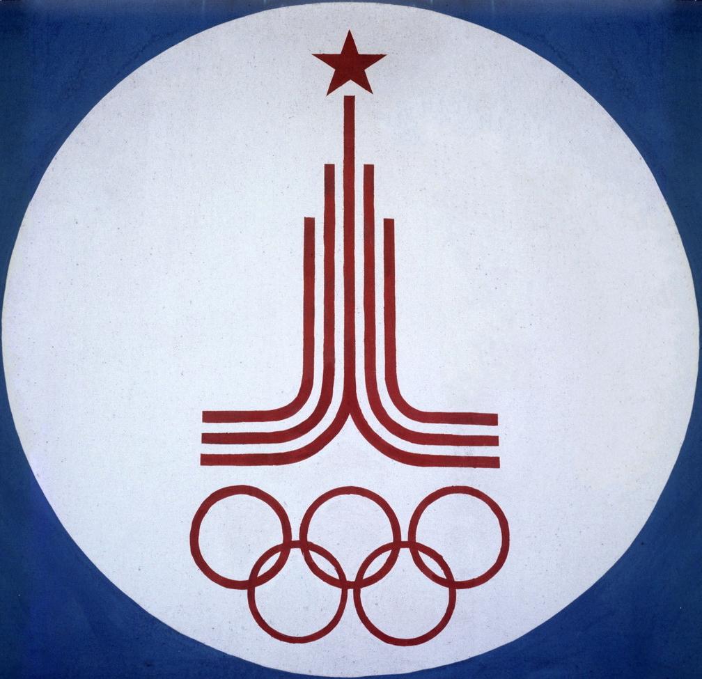 Эмблема олимпиады в СССР