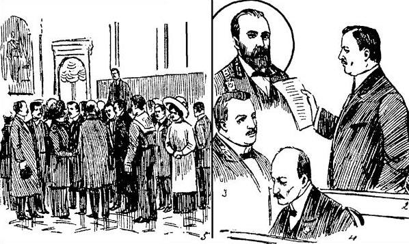 Николай Маклаков на суде