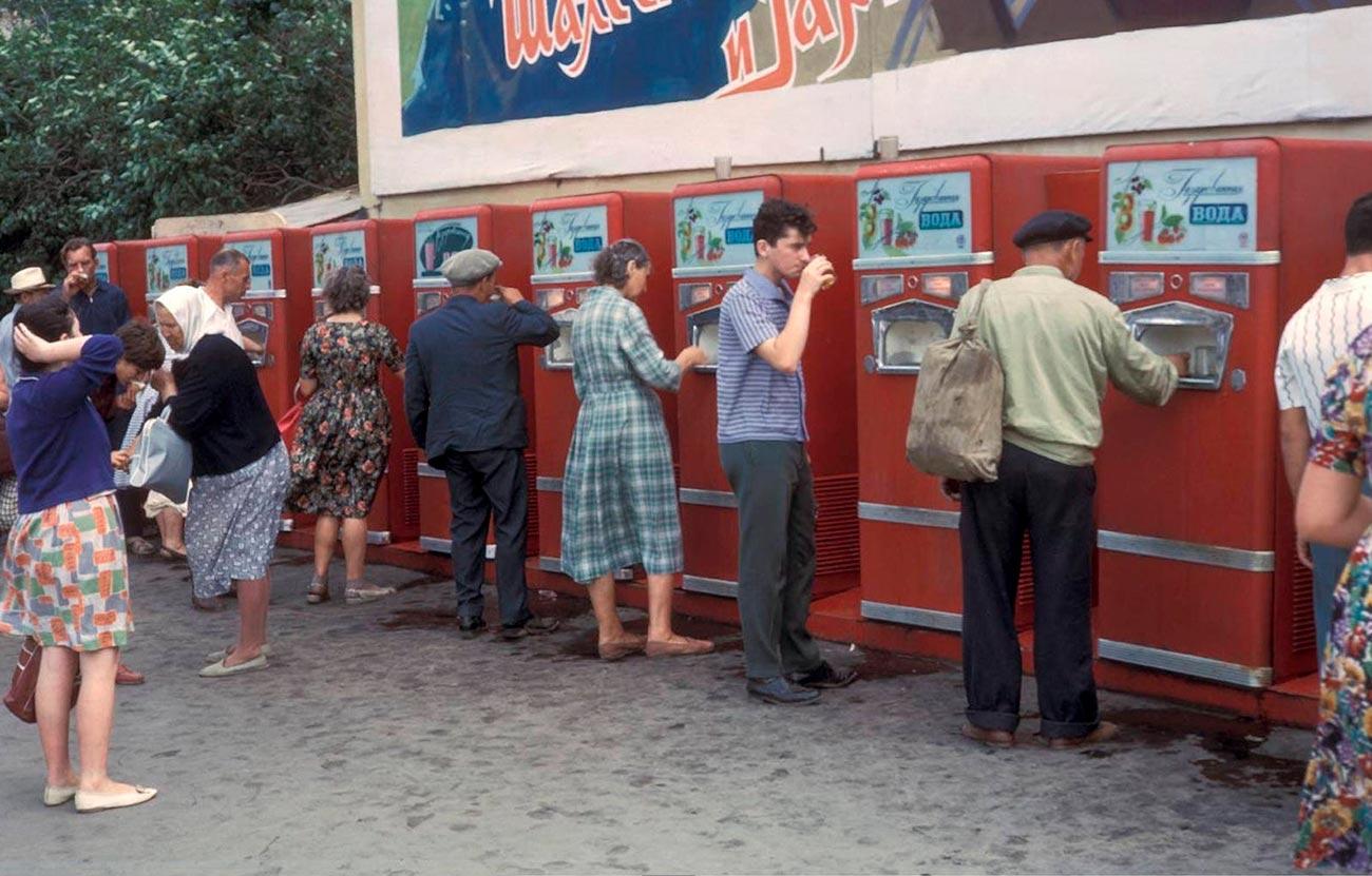 Чтопродавали ваппаратах вовремена СССР