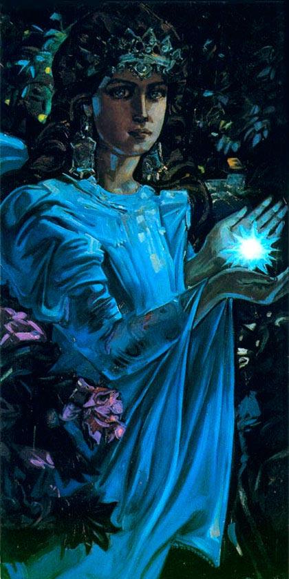 Богиня ночи Мара