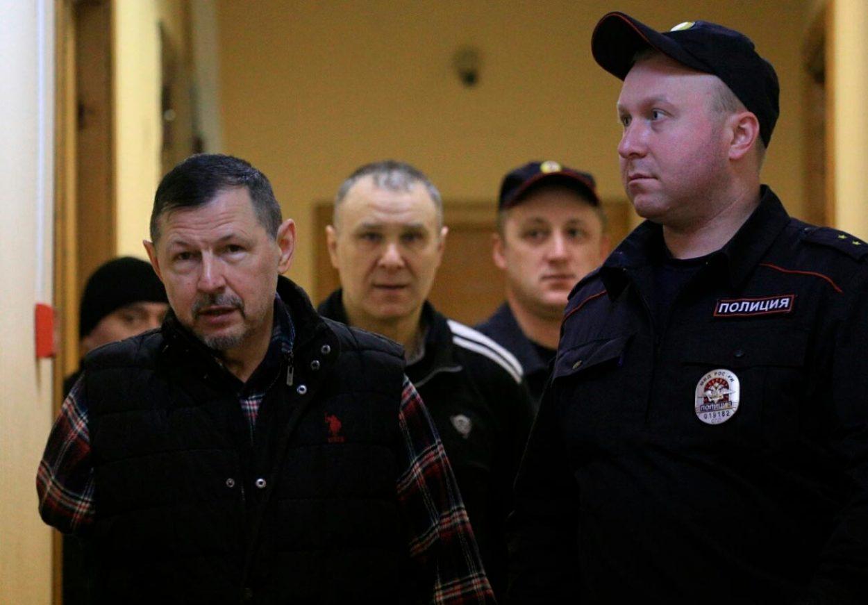 Владимир Барсуков в Куйбышевском суде