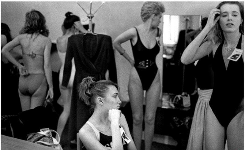 Конкурс красоты «Московская красавица» 1988 г.