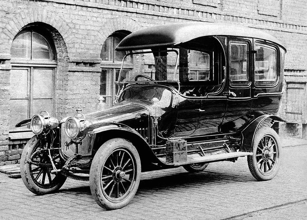 Первый российский автомобиль «Руссо-Балт»