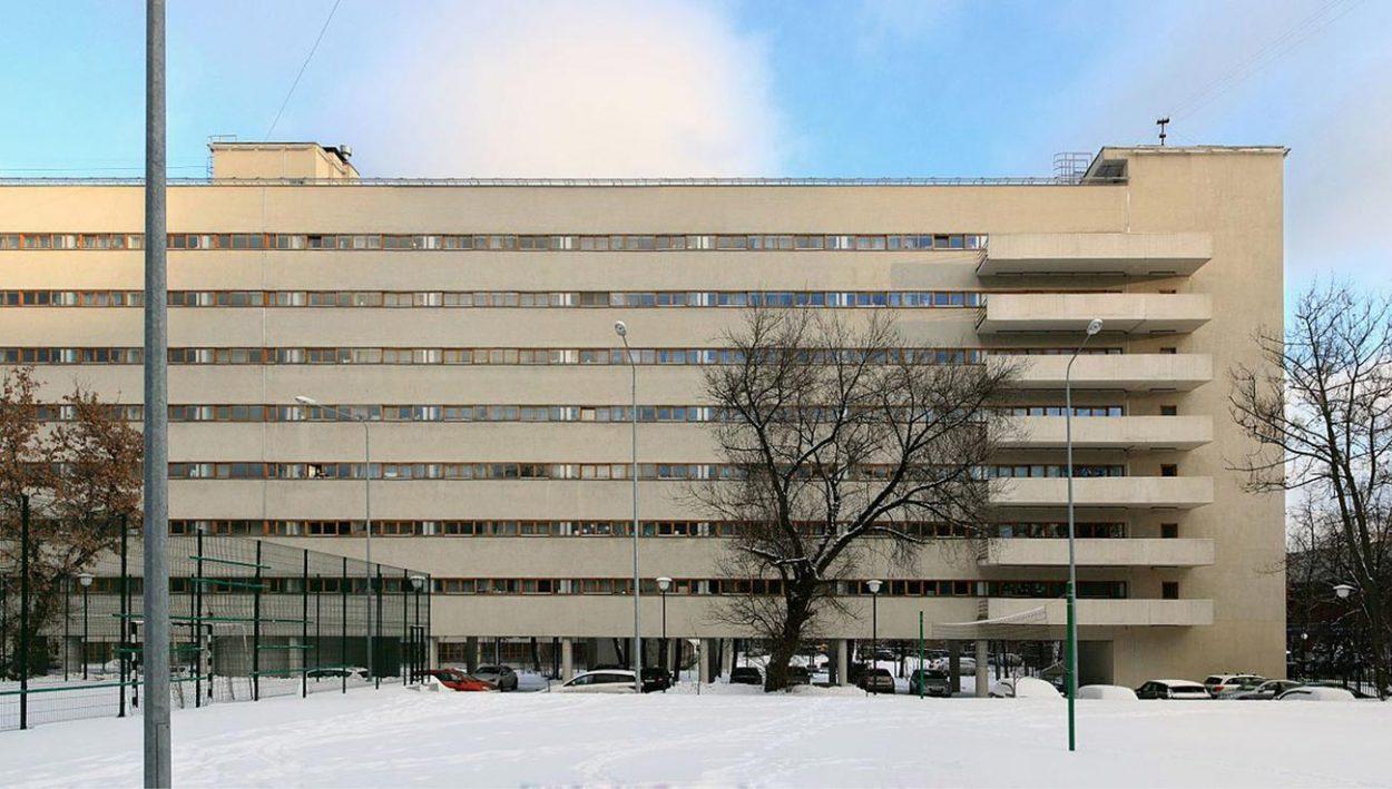 Дом-коммуна в Москве на улице Орджоникидзе