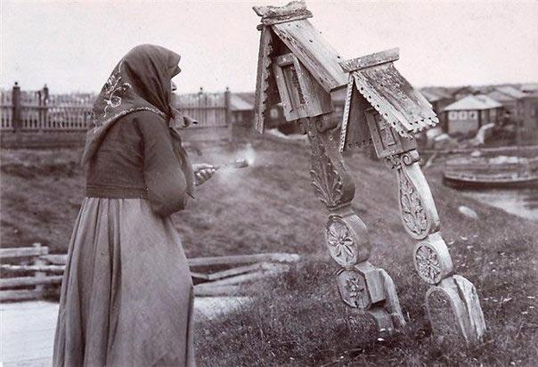 Славянские кресты-голубцы