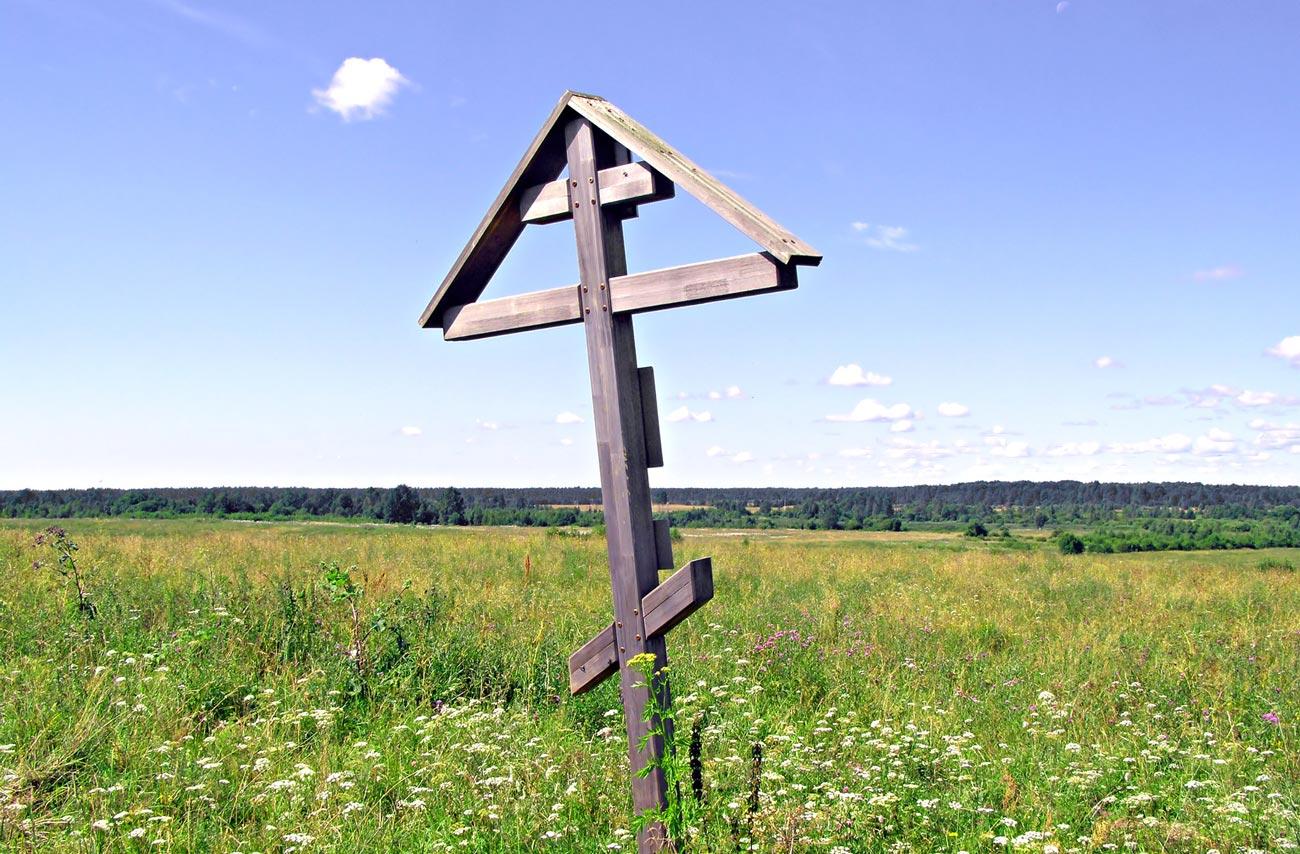 Современный крест-голубец