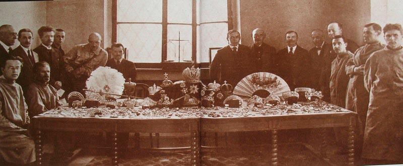 Большевики и сокровища дома Романовых