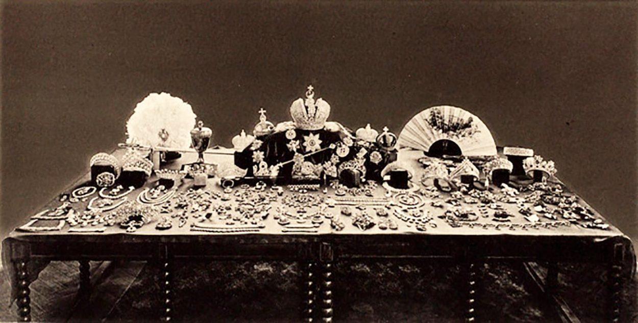 Драгоценности семьи Романовых