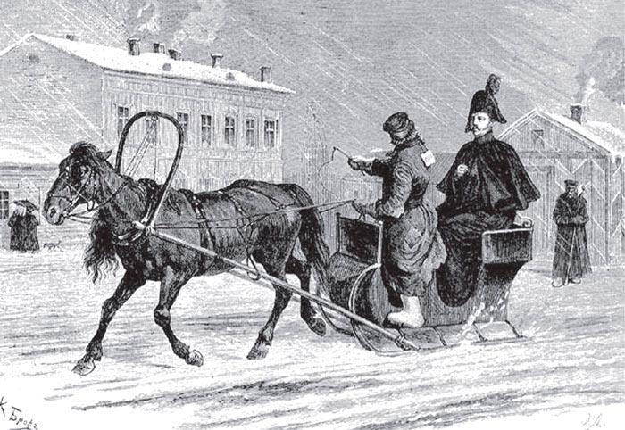 Частный извоз в царской России