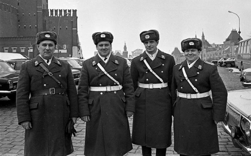 Милиция во времена СССР