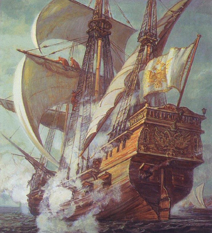 Пиратский флот Ивана Грозного