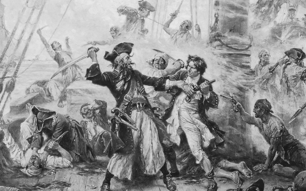 История русского пиратства
