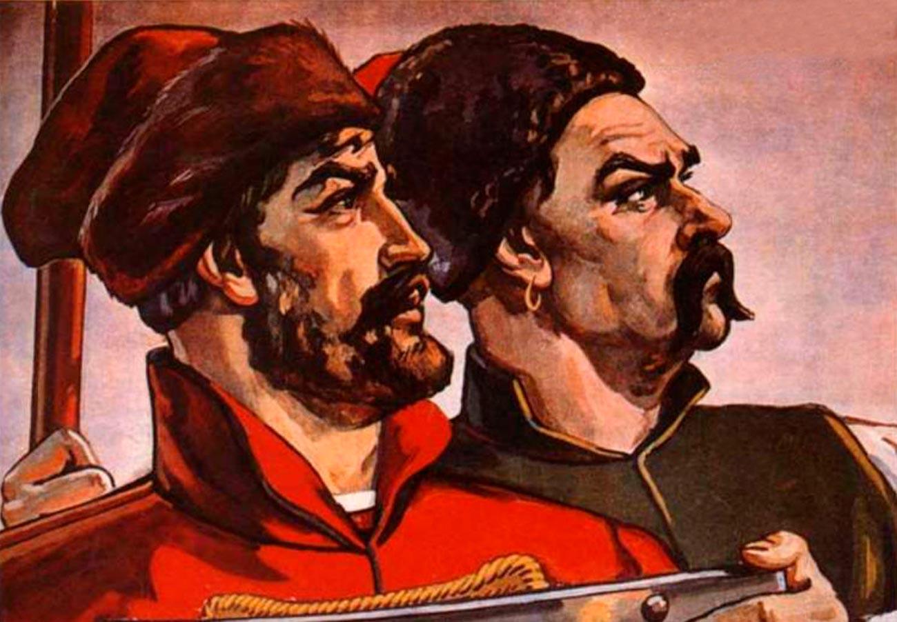 Какрусские стали кацапами, аукраинцы — хохлами