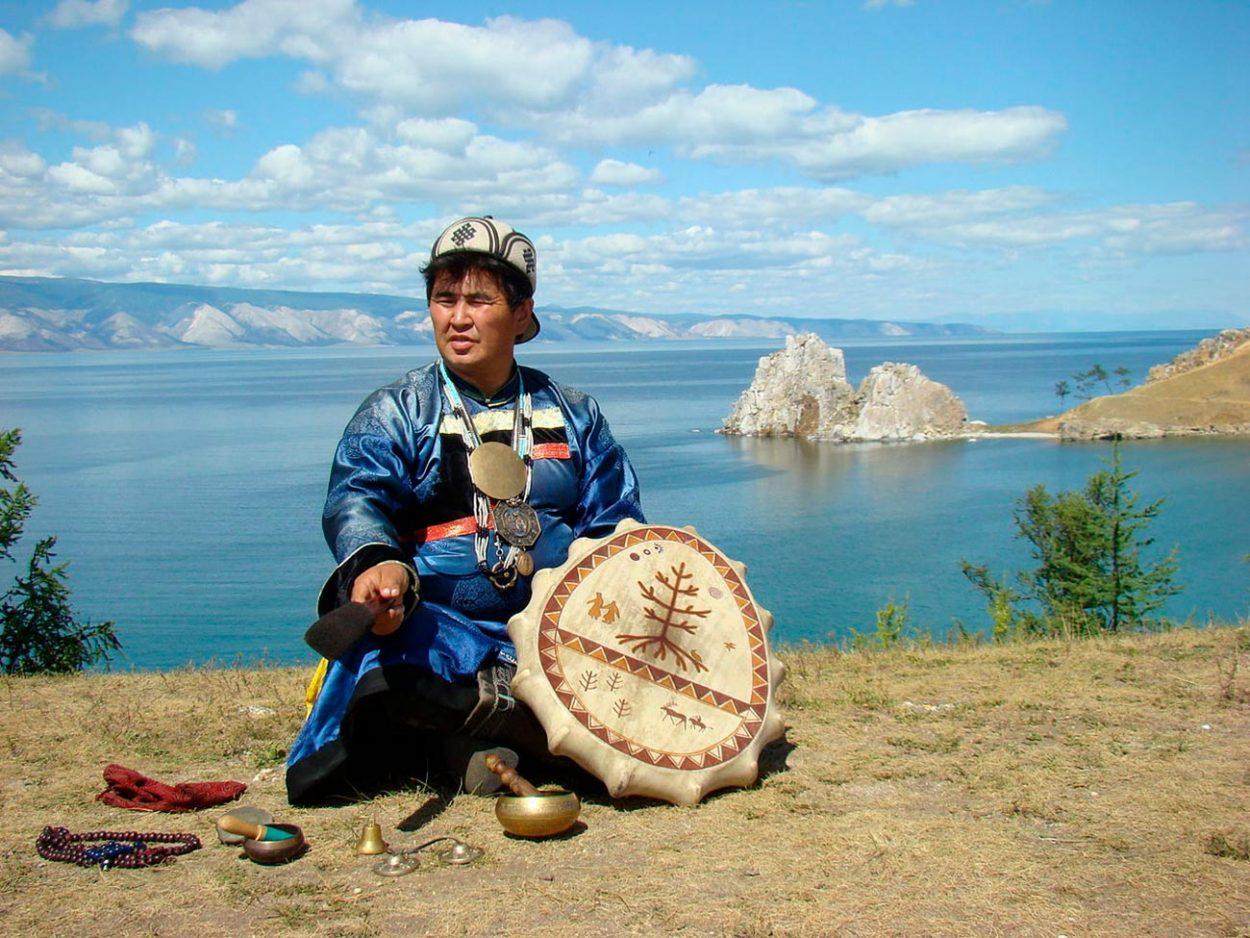 Главный шаман острова Ольхон