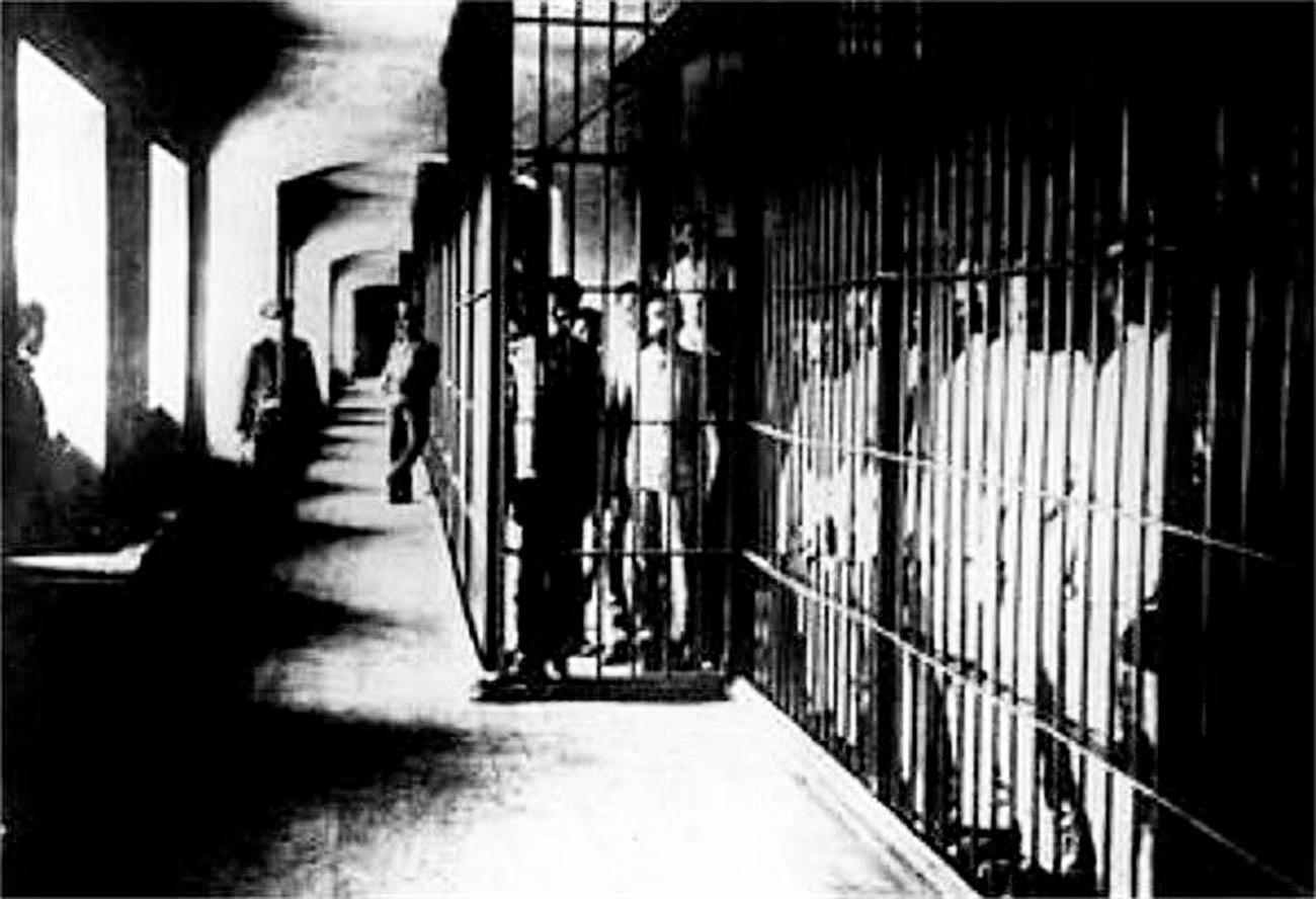 Лагерь для заключенных Соловки