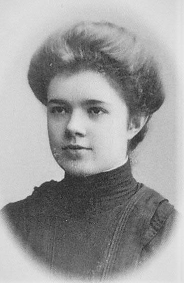 Екатерина Десницкая в юности