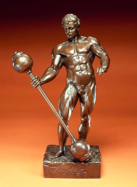 Бронзовая статуэтка Евгения Сандова