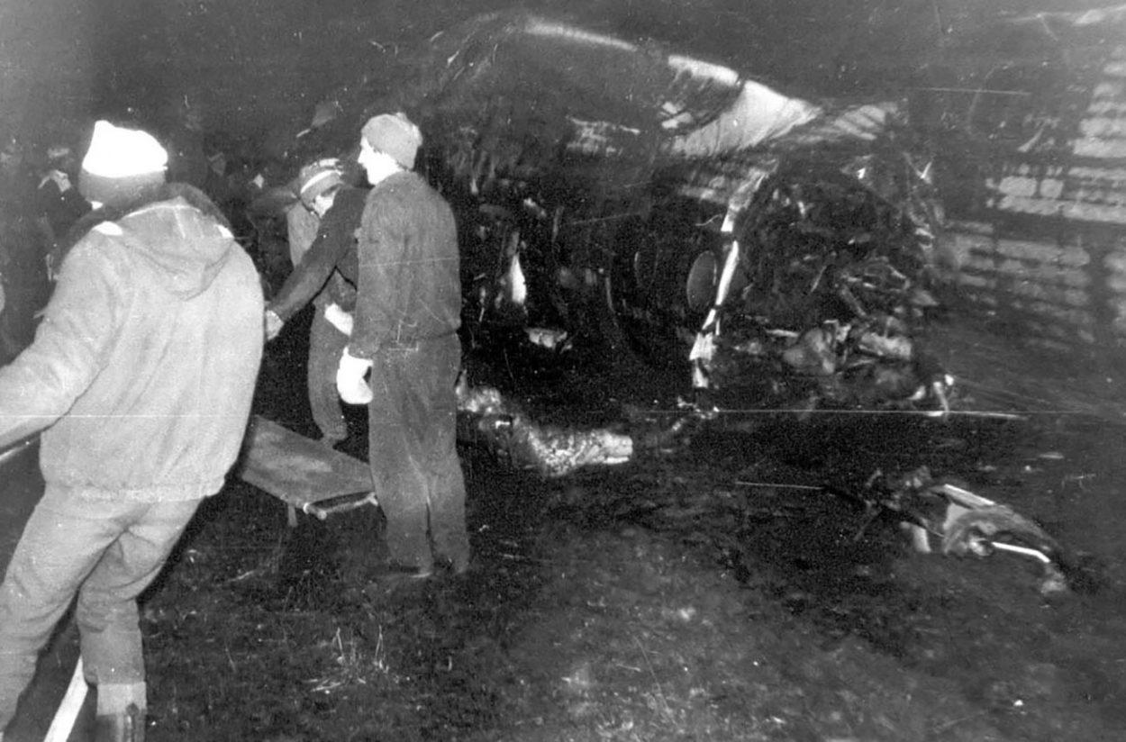 Катастрофа Ту-134 в Куйбышевском аэропорту