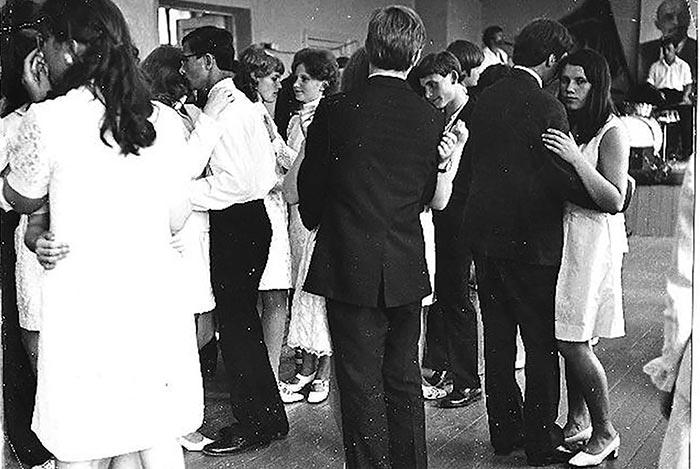 Танцы на выпускном в СССР