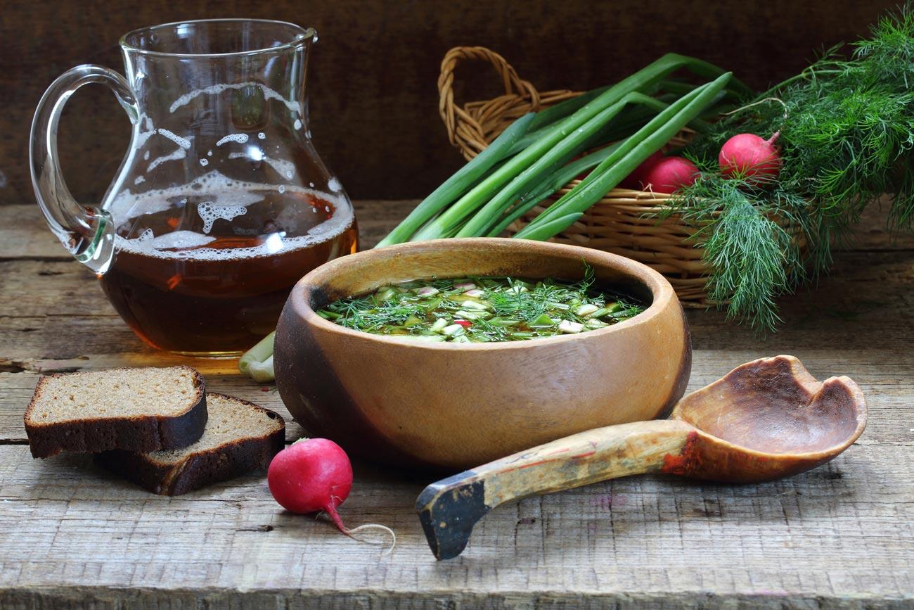Странные блюда русской кухни