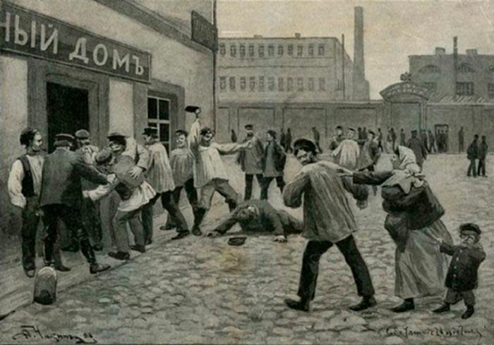 Антиалкогольный бунт