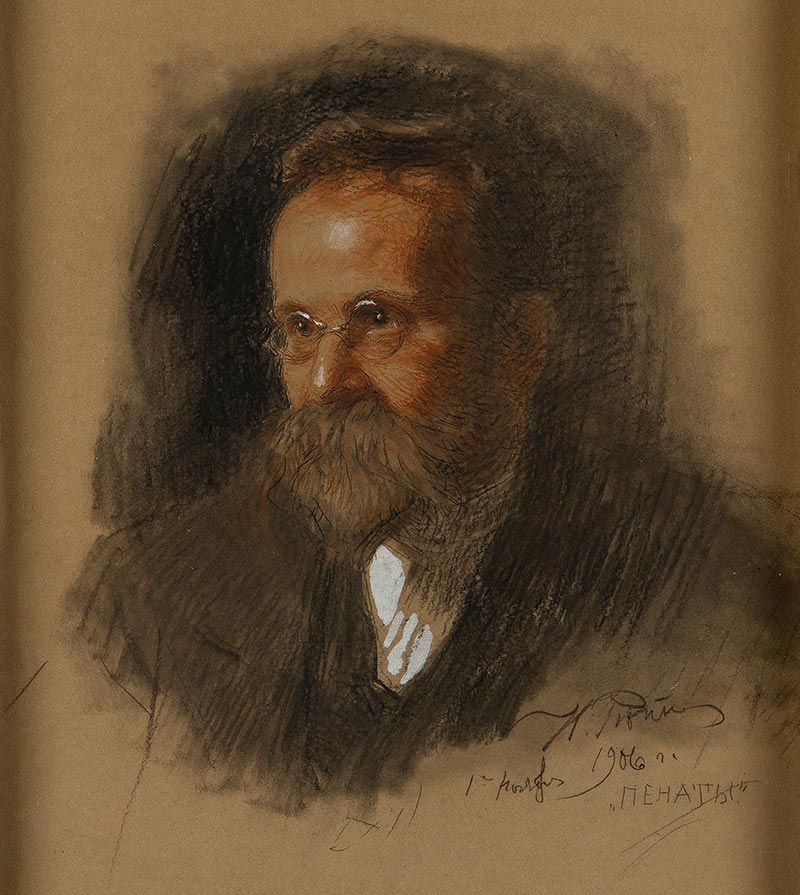 Портрет Морозова. И. Репин