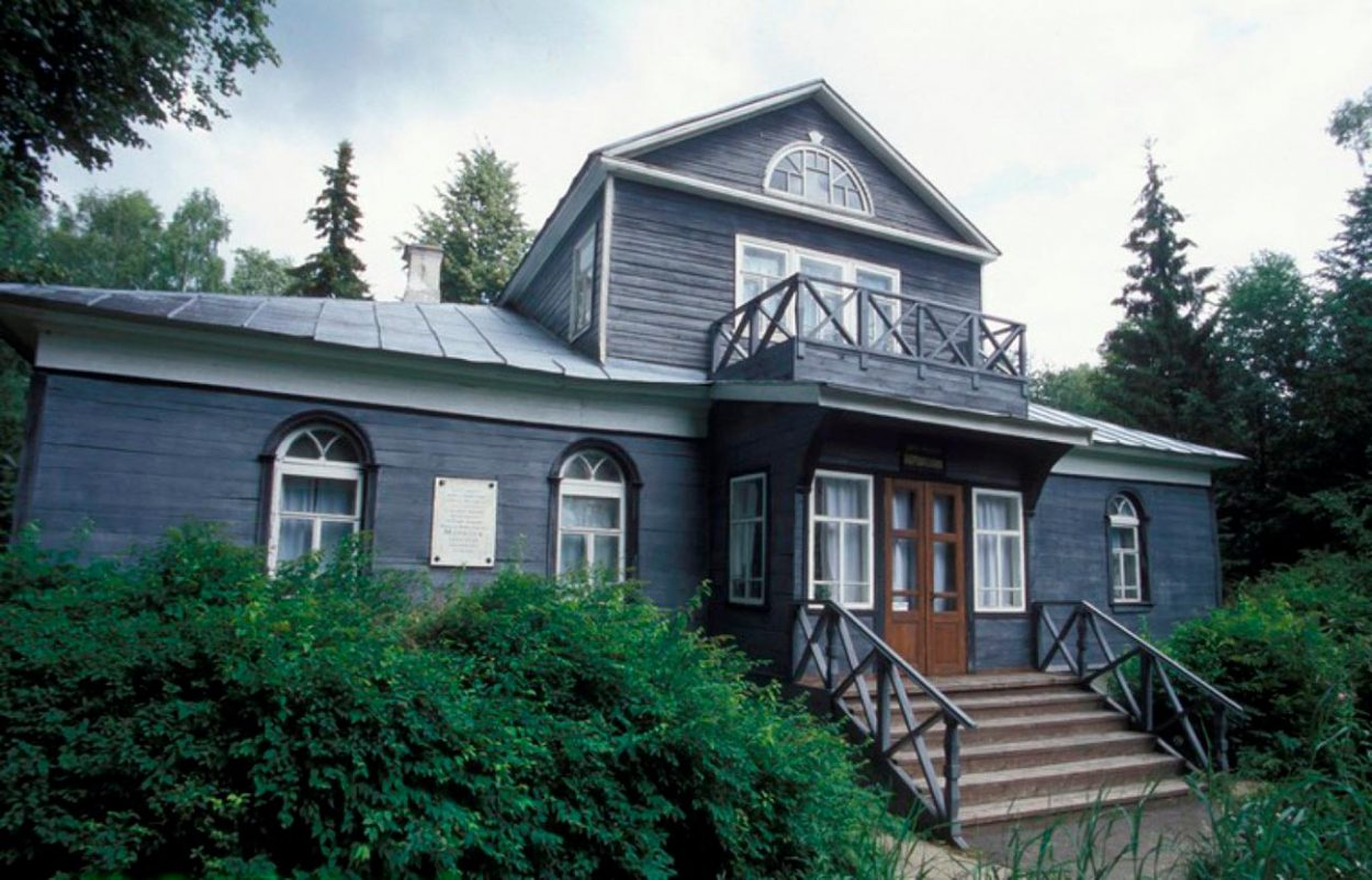 Мемориальный дом-музей Н. А. Морозова в посёлке Борок, Ярославская область
