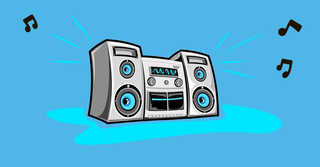 Иллюстрация к анекдоту про Фиму Каца, который слушал рэп