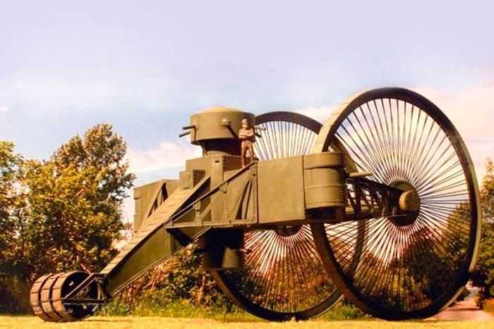 Боевая сухопутная машина Лебеденко