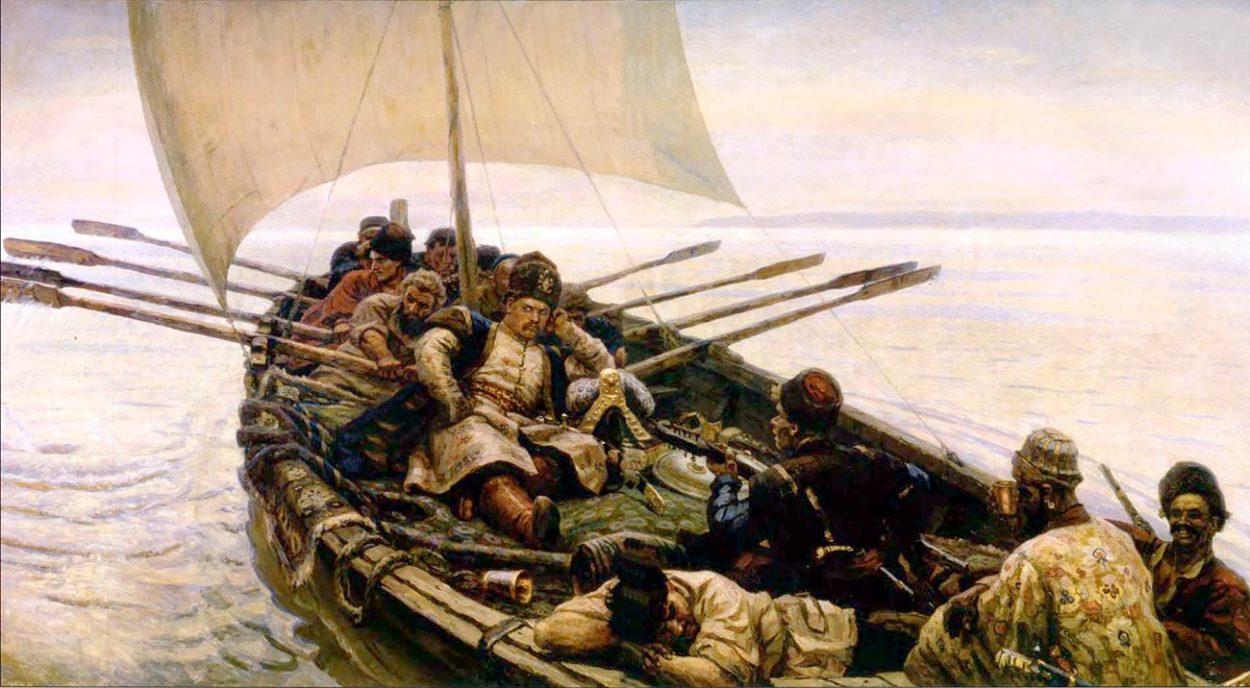 Картина В. Сурикова «Стенька Разин».