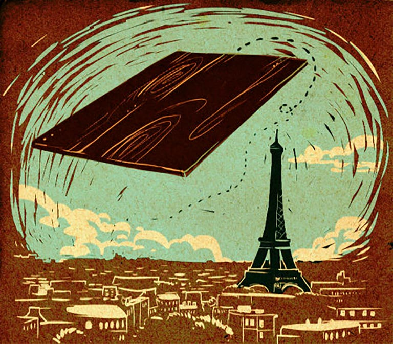 Как фанера над Парижем: трагическая история выражения