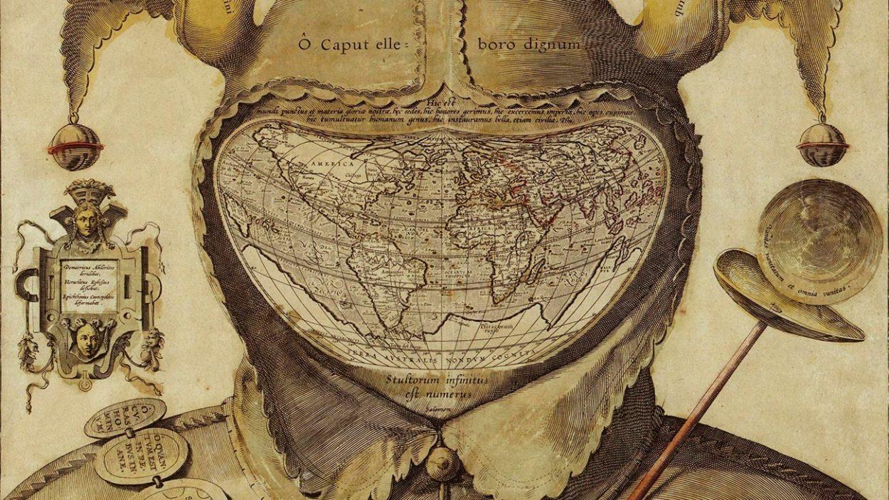 «Карта шутовского колпака» — зловещая картографическая загадка