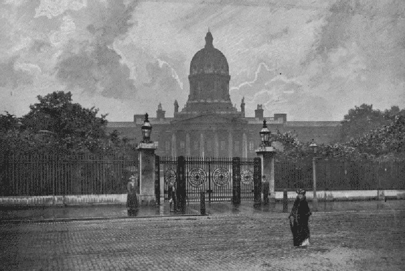 Бетлемская королевская больница 1896 год