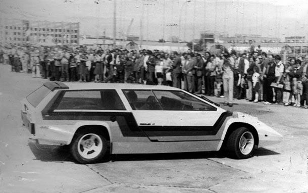 Суперкар из СССР «Панголина»