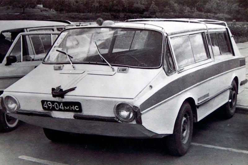 Самодельный автомобиль амфибия «Ихтиандр»