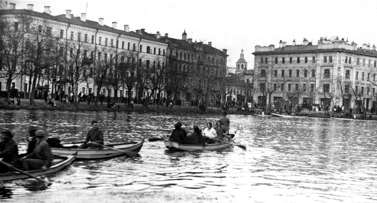 Чистые пруды в 1920-е годы