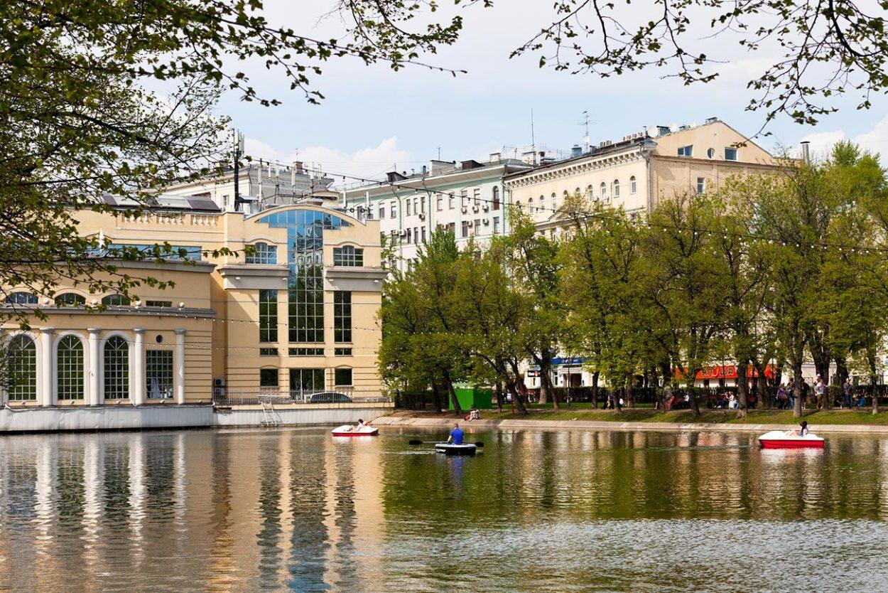 Чистые пруды, Москва.