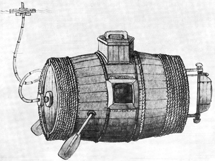 Подводная лодка по проекту Ефима Прокофьевича Никонова